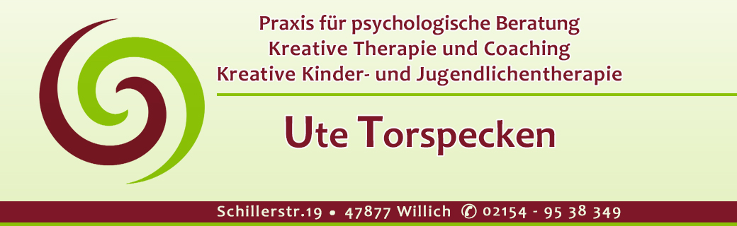 Psychotherapeutische Beratung UTE TORSPECKEN in Willich im Kreis Viersen – Supervision, Coaching, Traumatherapie, Familientherapie – Kindertherapie